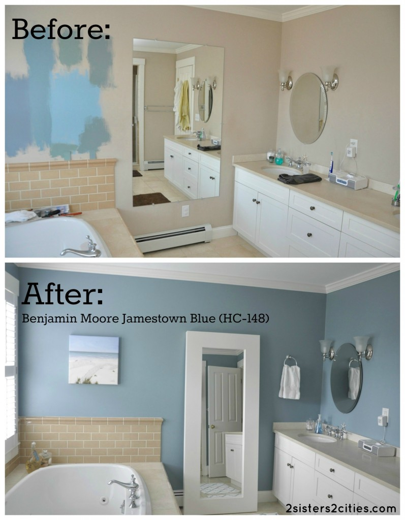 Color Paint Bathroom On Benjamin Moore Modern World