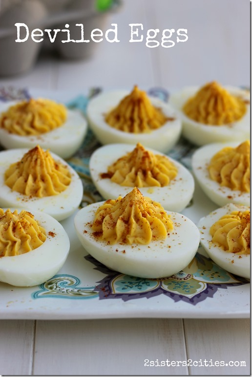 Classic Deviled Eggs | 2 Sisters 2 Cities