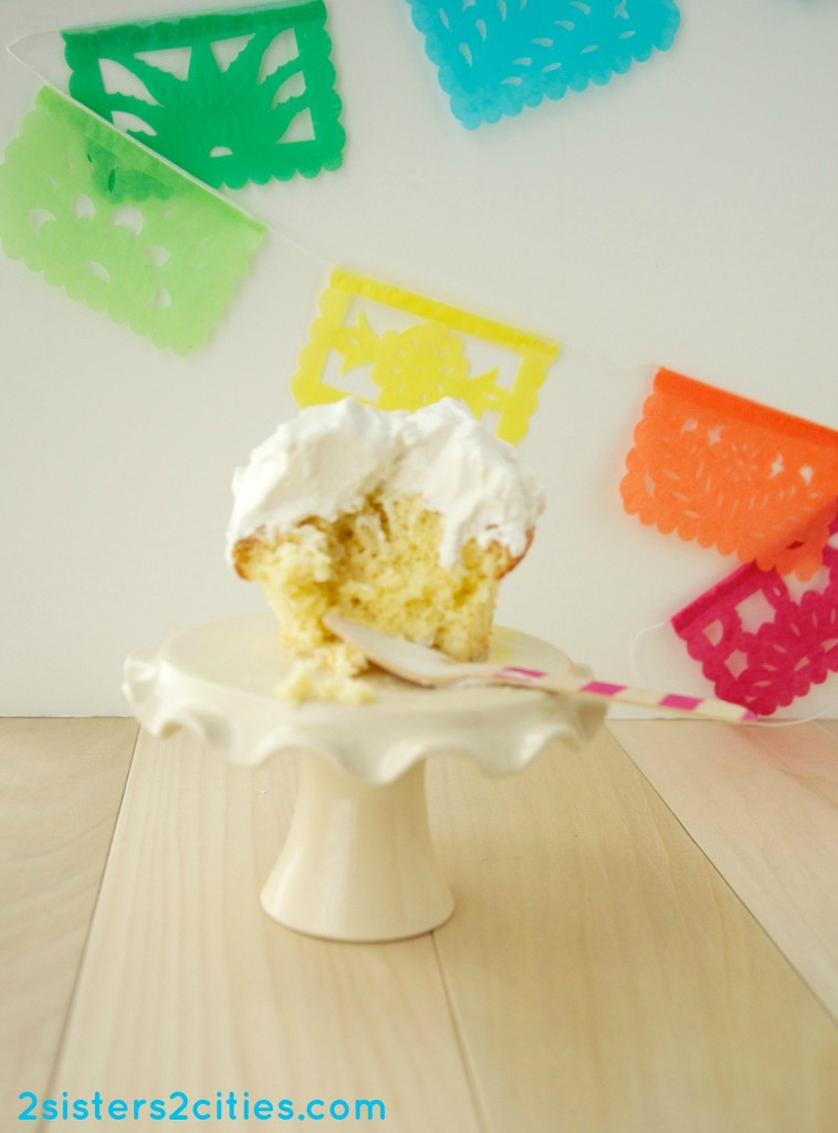 Tres Leches Cupcakes {from 2 Sisters 2 Cities}