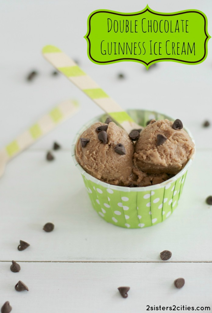 Double Chocolate Guinness Ice Cream | 2 Sisters 2 Cities